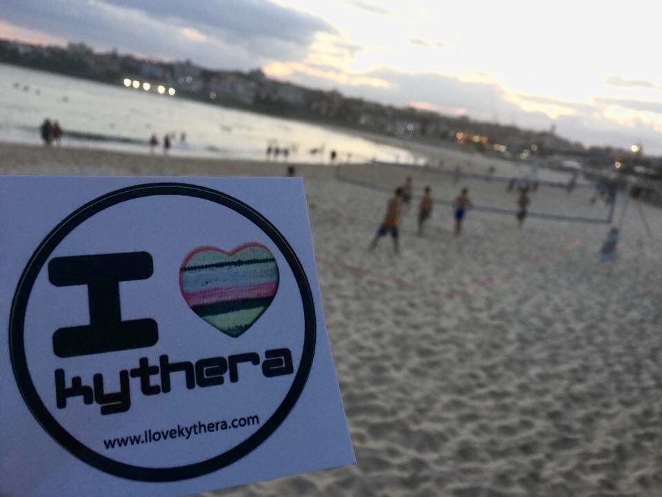 I love Kythera sticker, Australia