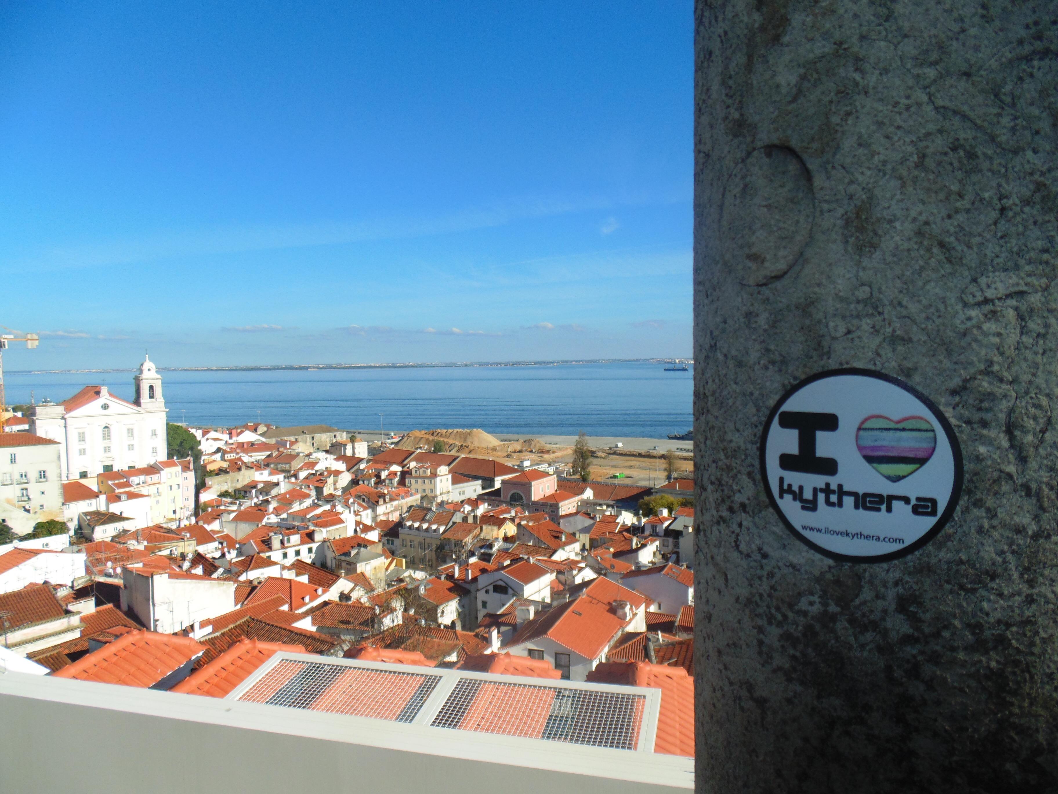 I love Kythera sticker, Portugal