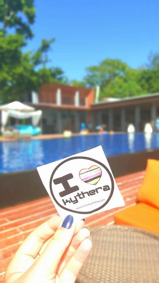 I love Kythera sticker, Thailand