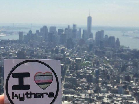 I love Kythera sticker, USA