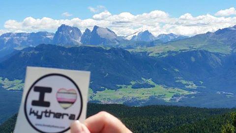 I love Kythera sticker, Italy
