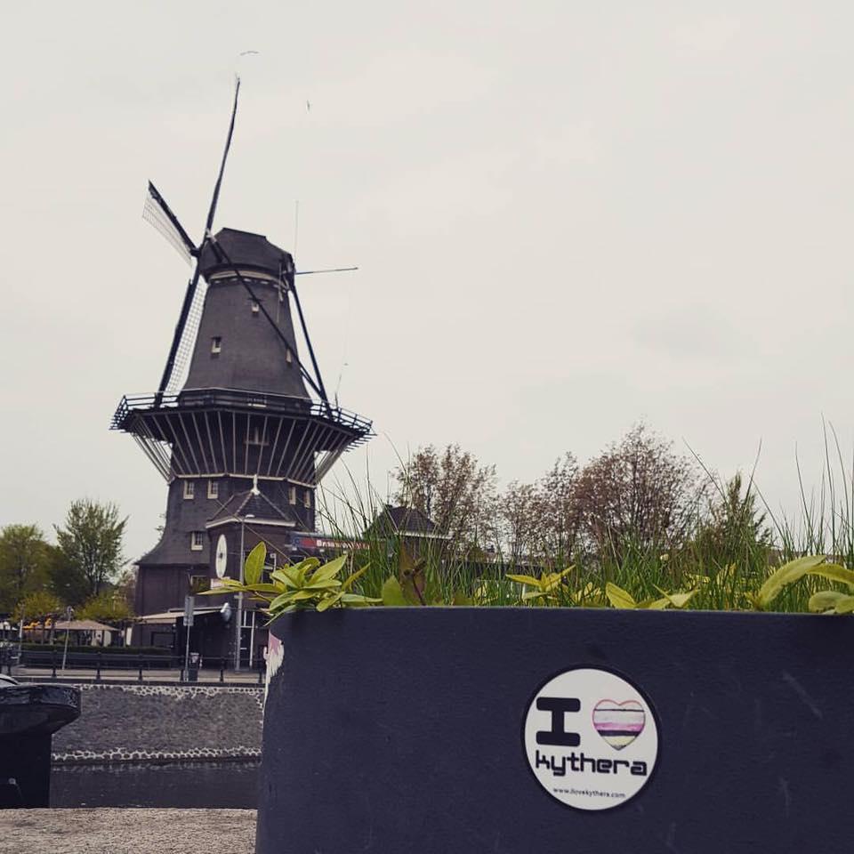 I love Kythera sticker, Netherlands