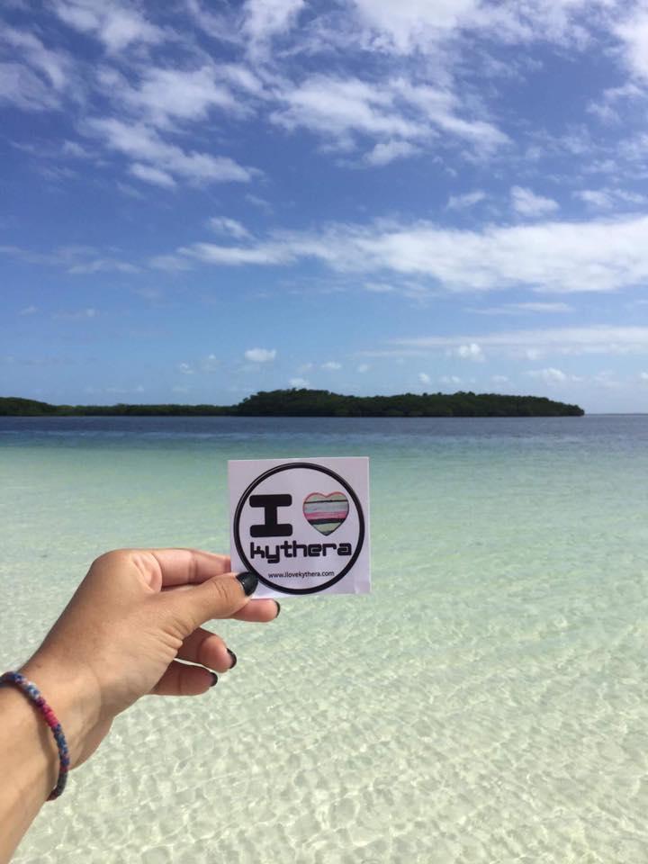 I love Kythera sticker, Cuba